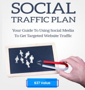 cover of free report on social media traffic plan